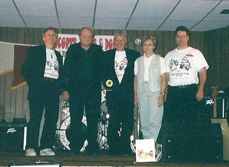 Do's & Don'ts band at Belle Plaine Legion Hall in November 2004