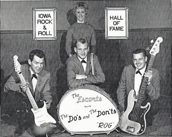 The Do's & Don'ts, Legendary Iowa Rock Band The Escorts Band