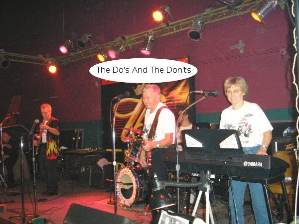 The Do's & Don'ts at Let's Dance in Cedar Rapids, Iowa on Thanksgiving 2004
