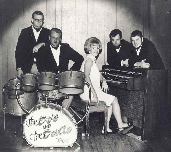 The Do's and The Don'ts Band Brad, Roger, Zelda, Dick, and Dick 1968