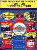 Iowa Rock N Roll Music Association's 1997-1998 Concert & Tour